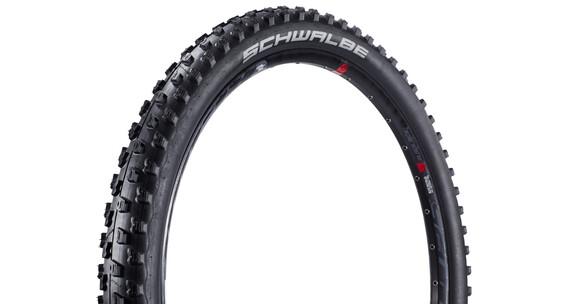SCHWALBE Fat Albert Front Evo SnakeSkin TL-Easy Cykeldäck 27,5'' Vikbart svart